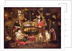 Kitchen Interior by Pieter Bruegel the Elder