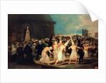 Procession of Flagellants by Francisco Jose de Goya y Lucientes