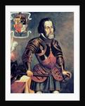 Hernando Cortes by Master of Saldana