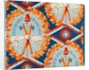 Wallpaper with French Revolutionary Symbols by French School