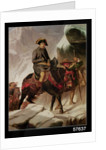 Napoleon Bonaparte Crossing the Alps by Hippolyte Delaroche