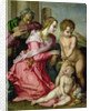 The Holy Family by Jacopo Pontormo