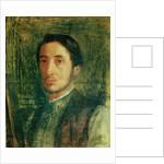 Self Portrait as a Young Man by Edgar Degas