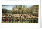 Procession in St. Mark's Square by Gentile Bellini