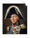 Portrait of Charles X King of France and Navarre by Emile Jean Horace Vernet