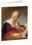 Portrait of a Man by Jean-Honore Fragonard