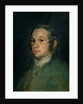 Self portrait with spectacles by Francisco Jose de Goya y Lucientes