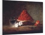 Basket with Wild Strawberries by Jean-Baptiste Simeon Chardin