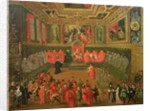 Audience with the Doge in at the College of the Ducale Palace by Joseph Heintz
