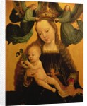 Madonna and Child Crowned by Two Angels by Gerard David