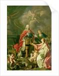 Ferdinand VI as Patron of Arts and Sciences by Antonio Gonzalez Ruiz