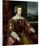 Portrait of the Empress Isabella of Portugal by Titian