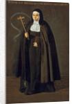 Madre Maria Jeronima de la Fuente by Diego Rodriguez de Silva y Velazquez
