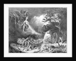 Faust and Mephistopheles at the Witches' Sabbath by Ferdinand Victor Eugene Delacroix