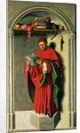 The Prophet Jeremiah by Master of the Aix Annunciation