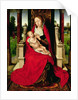 Madonna and Child Enthroned by Hans Memling