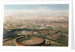 Aerial View of Madrid from the Plaza de Toros by Alfred Guesdon