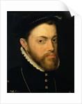 Portrait of Philip II of Spain by Sir Anthonis van Dashorst Mor