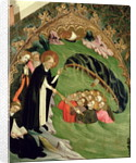St. Dominic Rescuing Shipwrecked Fishermen from Drowning by Lluis Borrassa