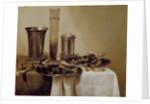 The Dessert by Willem Claesz. Heda