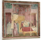 St. Francis Cures the Injured Man from Lerida by Giotto di Bondone