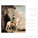 Equestrian Portrait of Catherine II the Great of Russia by Vigilius Erichsen