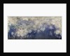 The Waterlilies - The Clouds (central section) 1915-26 by Claude Monet
