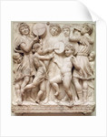 Musical angels, relief from the Cantoria by Luca Della Robbia