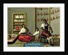 A Negro Man and his American Indian wife by Mexican School