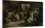 The Plague of Tournai in 1095, 1883 by Louis Gallait