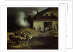 The Kiln at the Plaster Works by Theodore Gericault