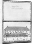 A galley getting ready to launch, twenty-first demonstration by illustration from 'Demonstrations de toutes les pieces de bois