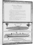 A galley entirely lined outside, eighth demonstration by French School