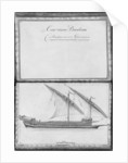 A seaworthy galley, thirty-first demonstration by illustration from 'Demonstrations de toutes les pieces de bois