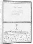 Construction of a galley, second demonstration by French School