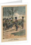A century ago, Napoleon at Montereau on the 18th February 1814 by French School