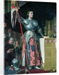 Joan of Arc at the Coronation of King Charles VII by Jean Auguste Dominique Ingres