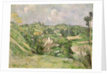 Auvers-sur-Oise, seen from the Val Harme by Paul Cezanne