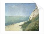 Beach at Bas Butin, Honfleur by Georges Pierre Seurat