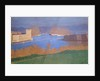 The Port of Marseille by Felix Edouard Vallotton