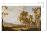 Landscape with ruins by Pierre Patel