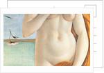 Birth of Venus, detail of Venus's torso by Sandro Botticelli
