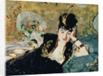 The Lady with Fans, Portrait of Nina de Callias by Edouard Manet