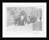 Queen Amelie of Portugal visiting the Ormesson Hospital for tuberculosis by French Photographer
