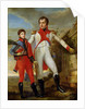 Louis Bonaparte King of Holland and Louis Napoleon Crown Prince of Holland by Jean Baptiste Joseph Wicar