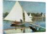 Sailing at Argenteuil by Claude Monet