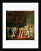The Marriage of Napoleon I and Marie Louise Archduchess of Austria by Georges Rouget