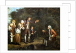 The Calas Family before Voltaire at Ferney by French School