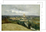 General View of the Town of Saint-Lo by Jean Baptiste Camille Corot