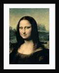 Detail of the Mona Lisa by Leonardo da Vinci